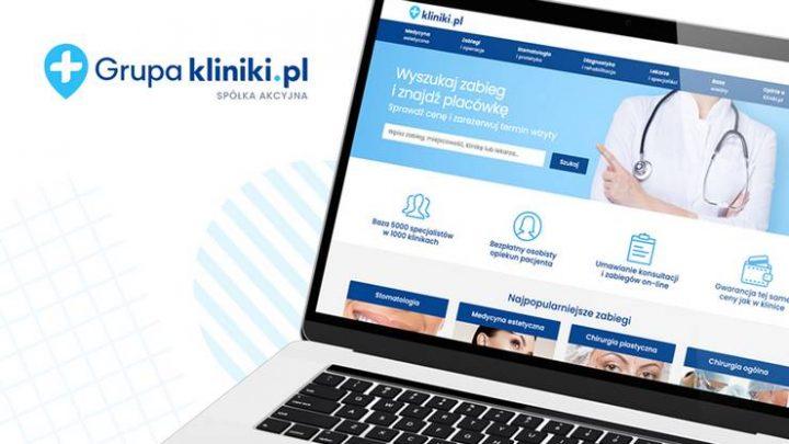 Kliniki.pl – pierwsza emisja na platformie Emiteo